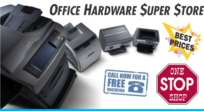 One Stop Shop for Printers, All-in-ones, Plotters, Scanners & Copiers